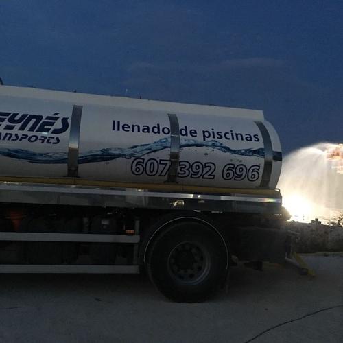 Suministro de agua potable en Mallorca | Transportes Reynés