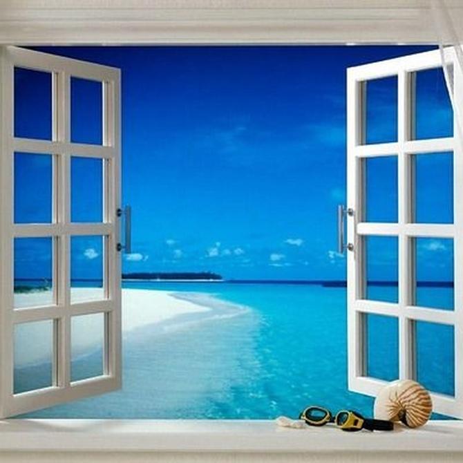 Ampliar una habitación con cortinas de cristal