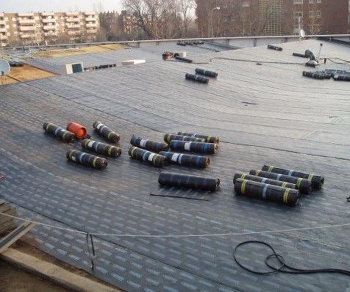 Impermeabilización de cubiertas: Servicios de Arficom