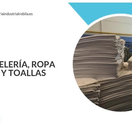 Lavanderías Industriales en Madrid | Lavandería Industrial Robila