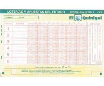 Quiniela 1 X 2: Loterías de Administración de Alcampo Nº 46