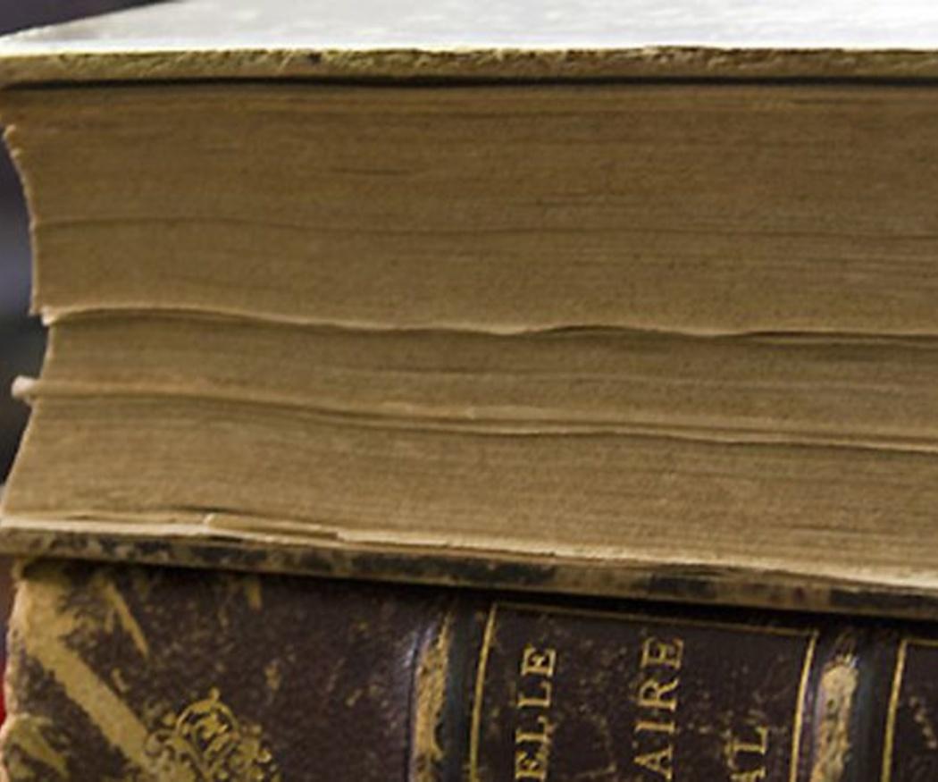 ¿Cómo evitar el deterioro de libros, fotos o documentación?