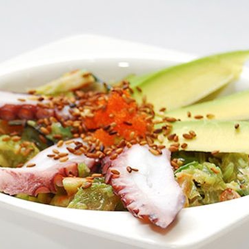 Ensaladas: Carta de Fujiyama Sushi Bar & Asian Cuisine