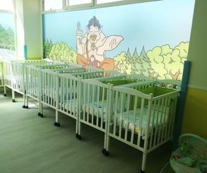 Instalaciones con cunas para bebés