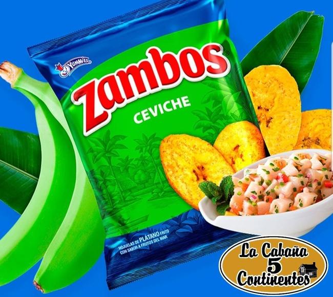 zambos sabor ceviche: PRODUCTOS de La Cabaña 5 continentes