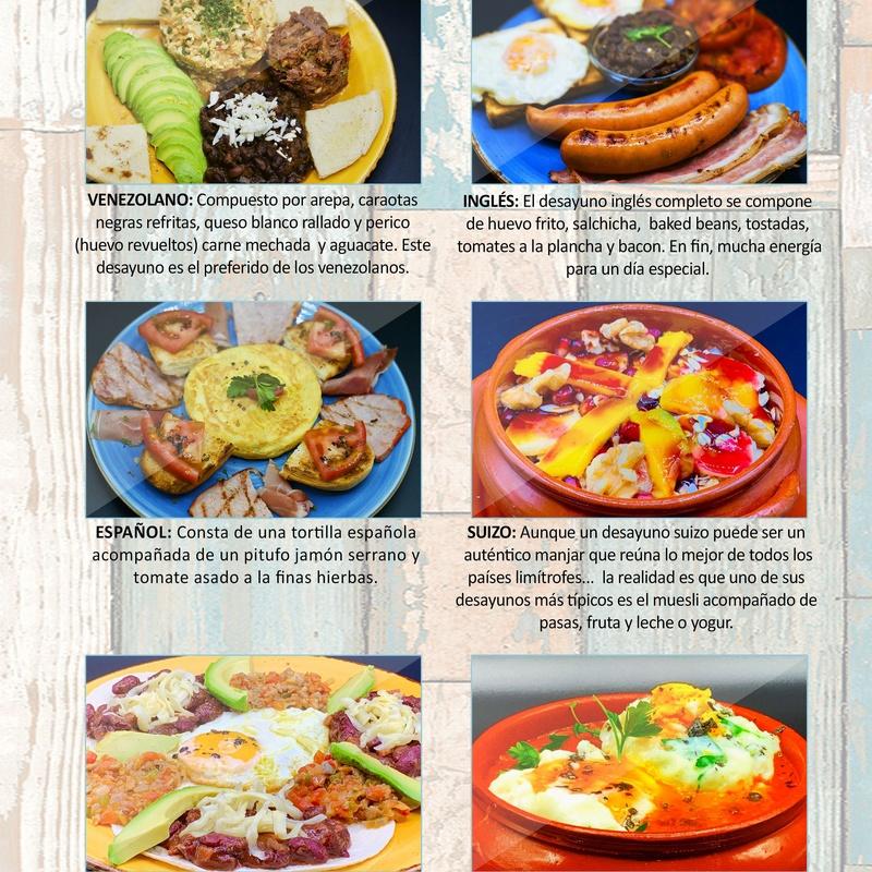 Desayunos contundentes: Carta de Restaurante Pal-buche
