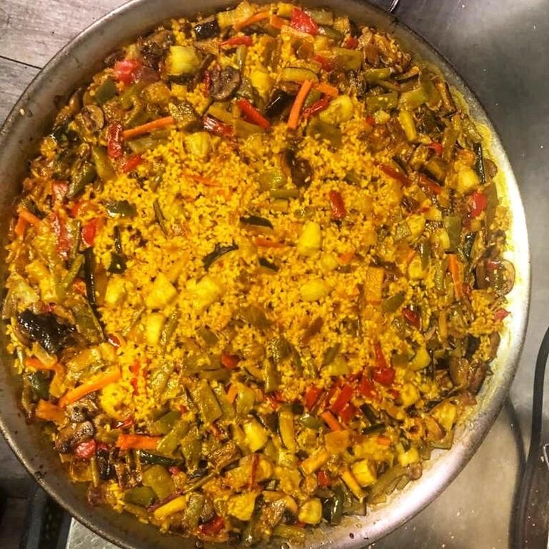 Paellas y arroces (por encargo): Carta de Restaurante Palmanova