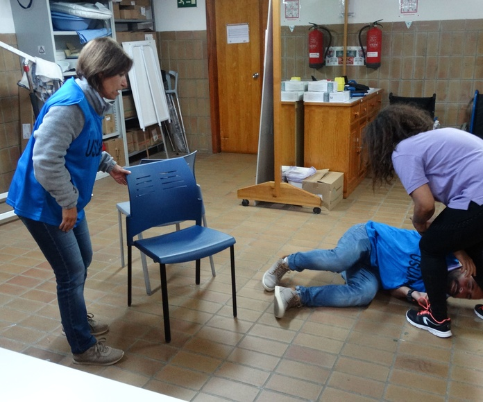 Técnicas de apoyo psicológico en situaciones de crisis:: Proyectos y Servicios de Asociación Domitila