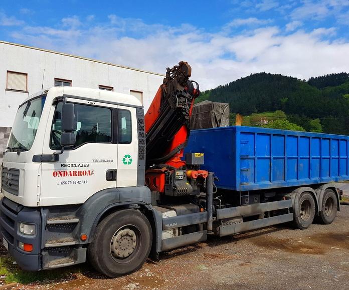 DESMANTELAMIENTO INTEGRAL DE FÁBRICAS.: Servicios de Reciclajes Ondarroa