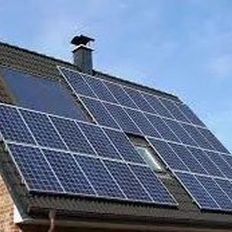 Panel solar en vivienda .Tarragona Ifér