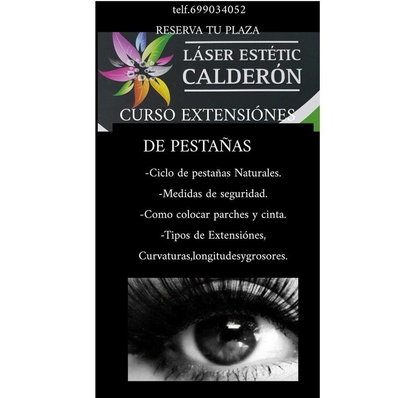 Cursos: Servicios de Patri Calderón Estetic