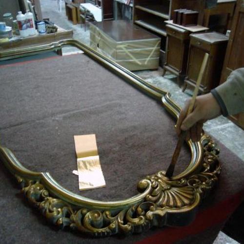 marco en proceso de restauracion