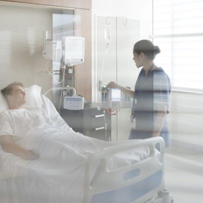 El cuidado a enfermos en hospitales