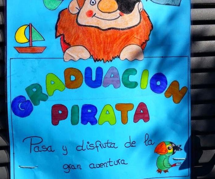 Fiesta de graduación escuela infantil Arroyomolinos