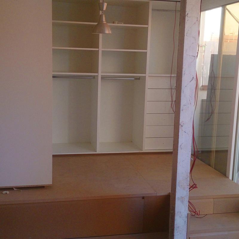 Carpintería de madera : SERVICIOS de Instalaciones Corneclima