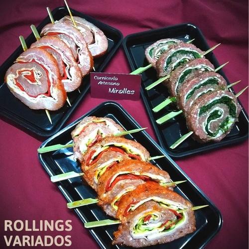 Rollings de carne