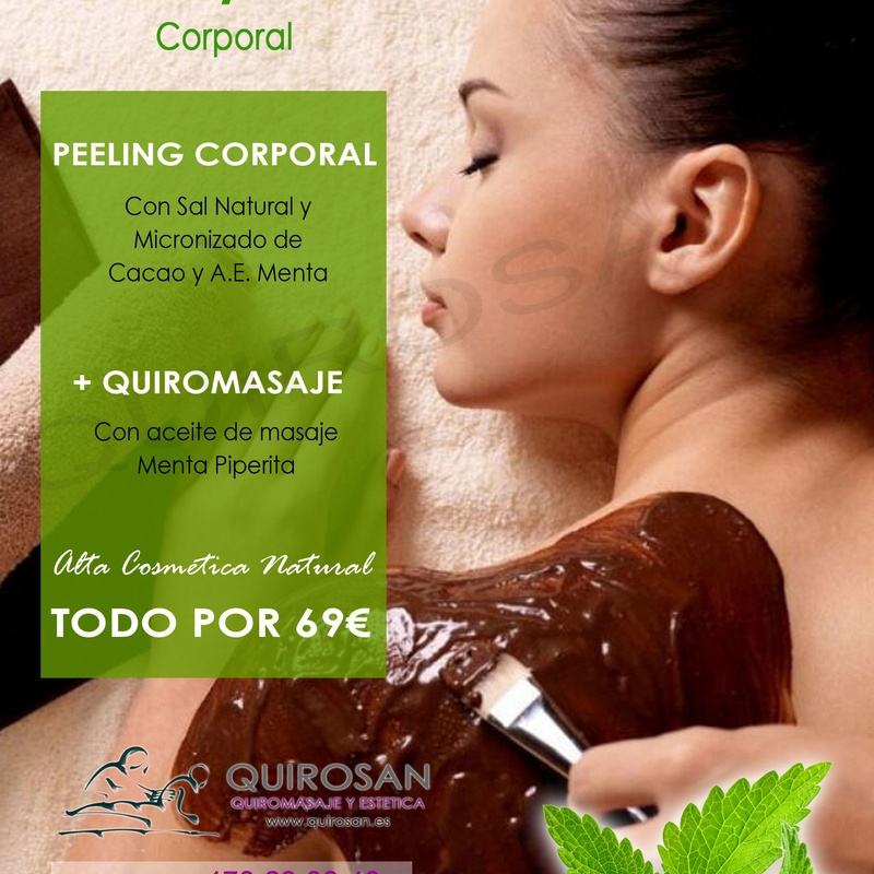 Ritual SPA-CACAO & MENTA: Servicios de Quirosan