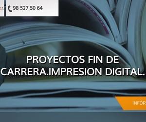 Proyecto fin de carrera en Asturias | Seis Impresión Digital