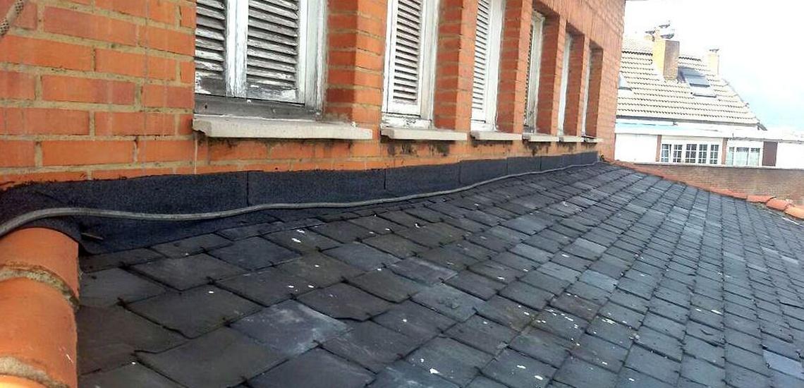 Restauración de tejados de pizarra en Oviedo