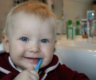 La higiene dental en los niños