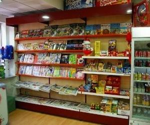 Estanterías para librería de Estampaciones Ruiz