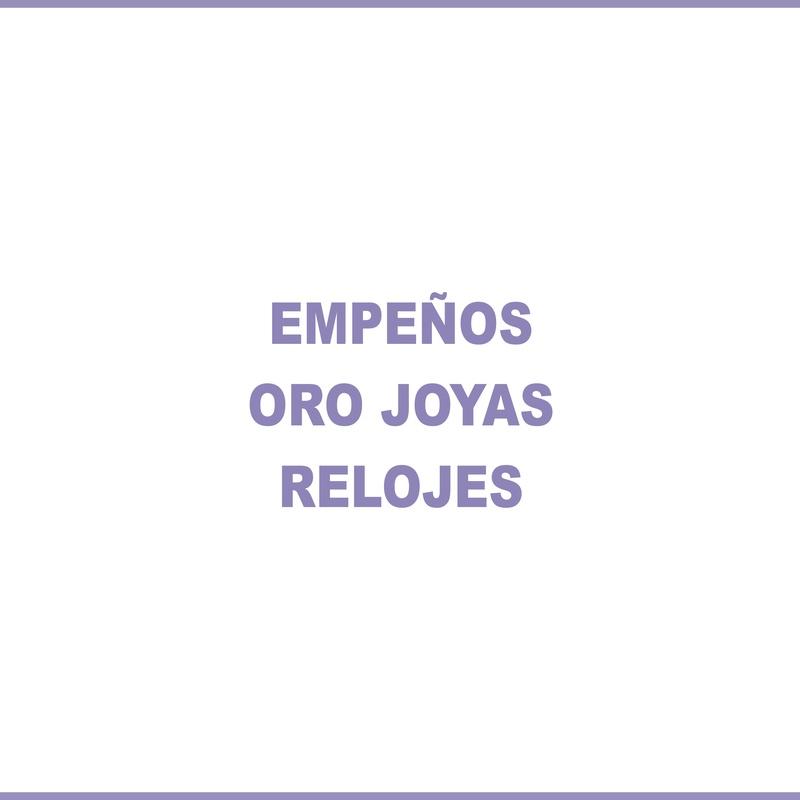 EMPEÑOS: Joyería y relojería de Joyería La Montañesa