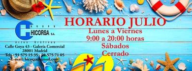 HORARIO DE JULIO