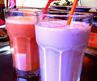 Smoothies y milkshakes