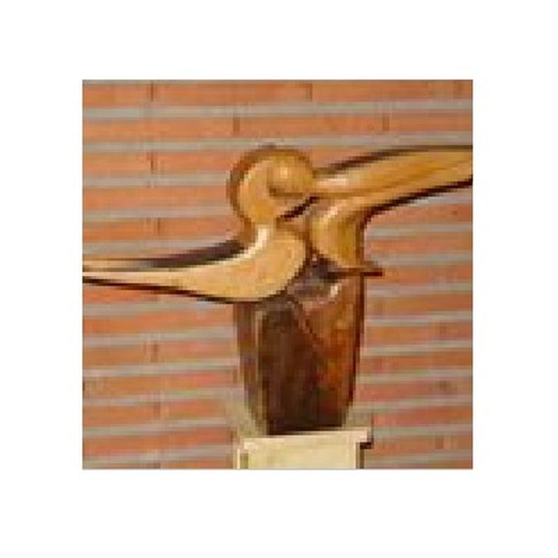 Canto de amor en primavera: Esculturas de Antonia Dávalos