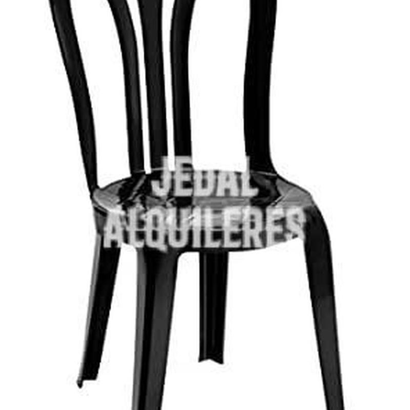 Silla PVC sin reposabrazos, modelo Garrocha: Catálogo de Jedal Alquileres
