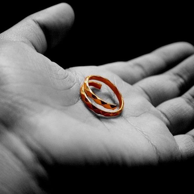 La alegría de recuperar una joya