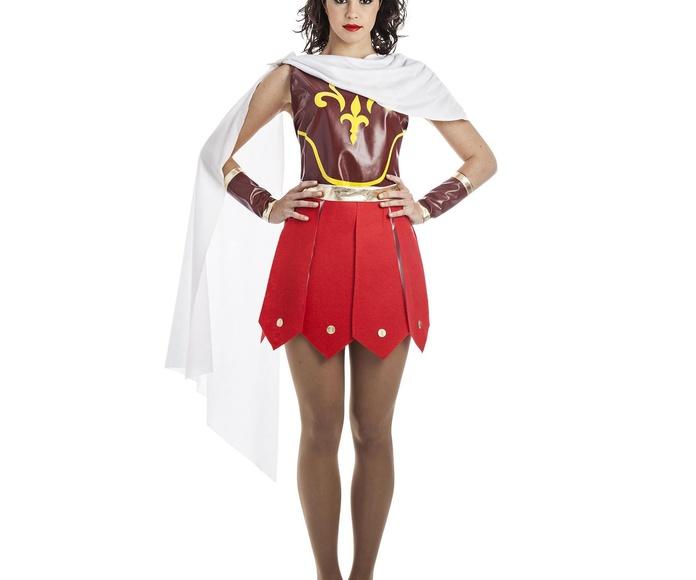 Disfraz guerrera romana