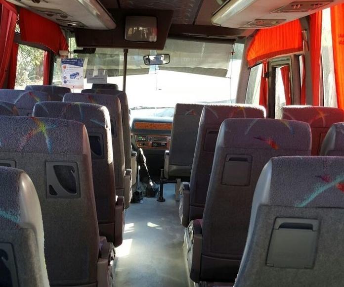 Autobuses: Servicios de Autobuses Berrocal