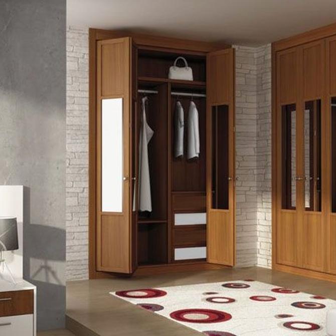 Elegir el interior de un armario a medida