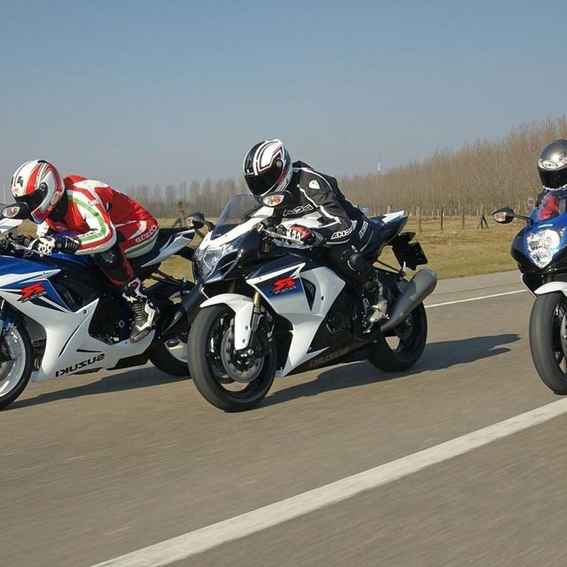 Carnet de moto A1 y A2: Permisos de conducir de Autoeskola Larrañaga