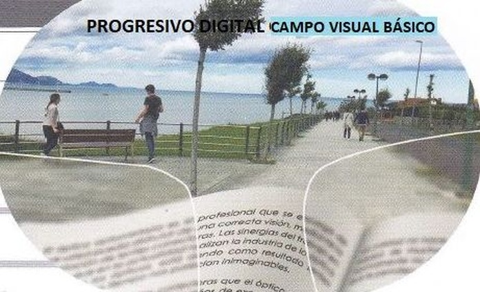 Progresivo digital, campo visual básico: Productos de Centro Óptico Valdavia