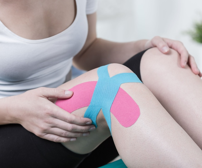 Vendajes- Kinesiotape: Tratamientos de fisioterapia de Centro de Fisioterapia FisioMar