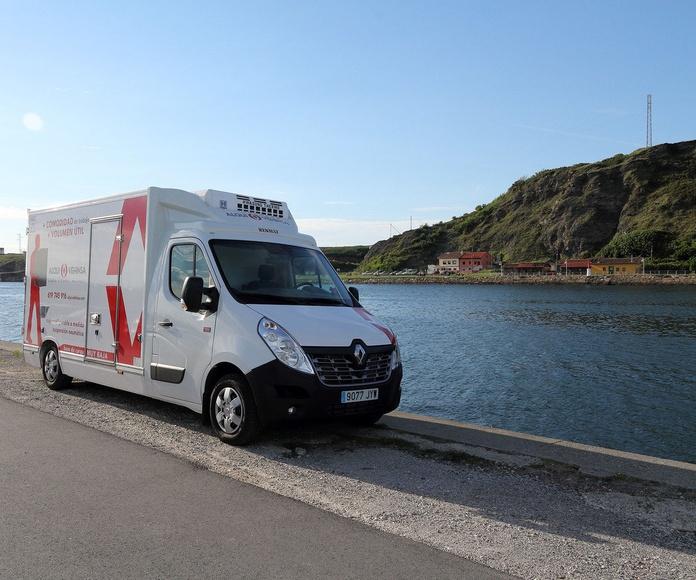Alquiler camiones Isotermo Asturias