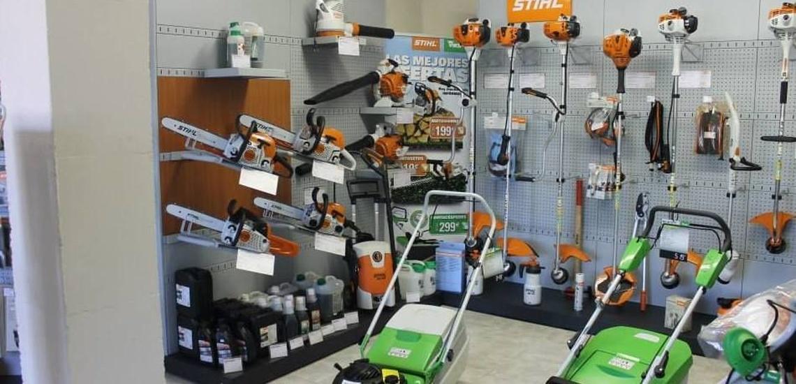 Maquinaria de jardinería en Guadalix de la Sierra