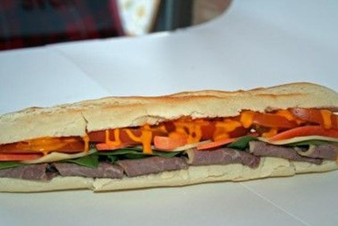 American sándwiches: Carta de Newyorkers Café