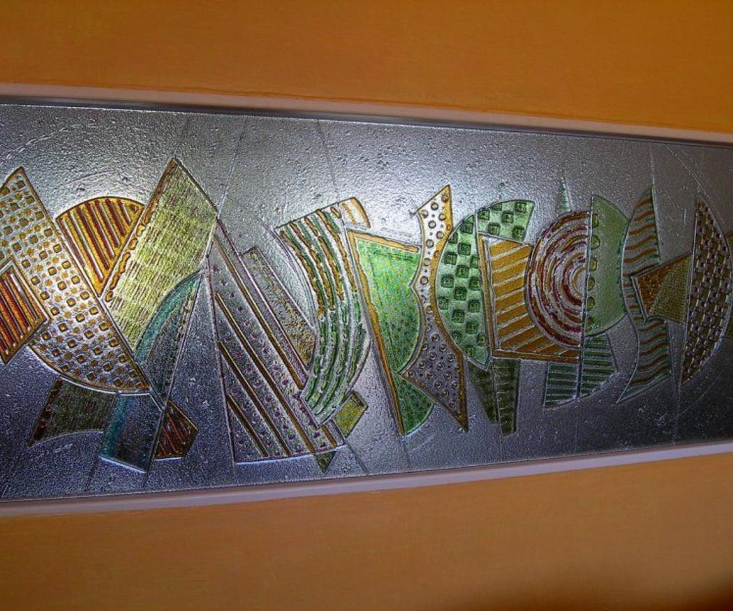 La técnica de decorar el vidrio con fusing
