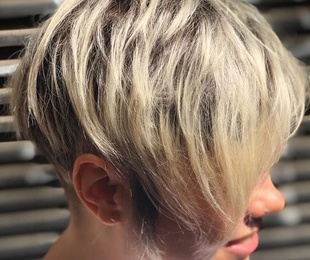 Female haircut