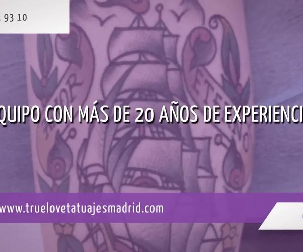 Tatuajes in Madrid | True Love Tattoo