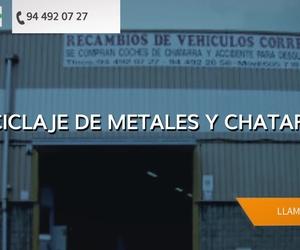 Bajas de coches en Vizcaya | Recambios Correa