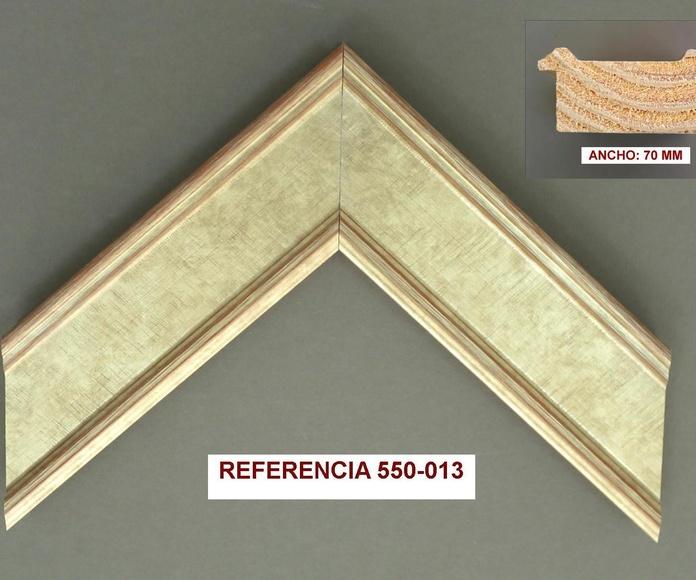 REF 550-013: Muestrario de Moldusevilla