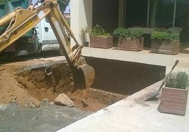 Construcción piscina completa