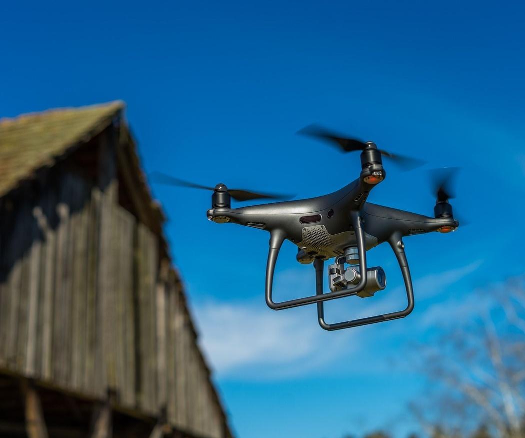 Tipos de drones para topografía