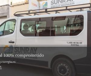Placas solares en Badajoz | Sunray Energías Renovables