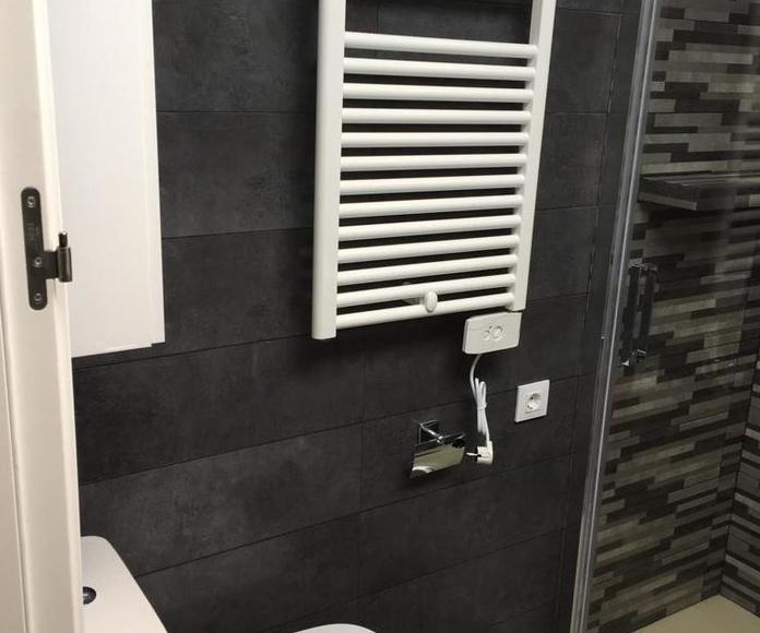 Radidador toallero en color blanco