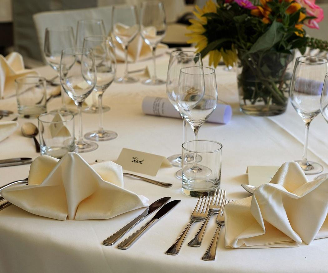 ¿Son todos los restaurantes para bodas iguales?